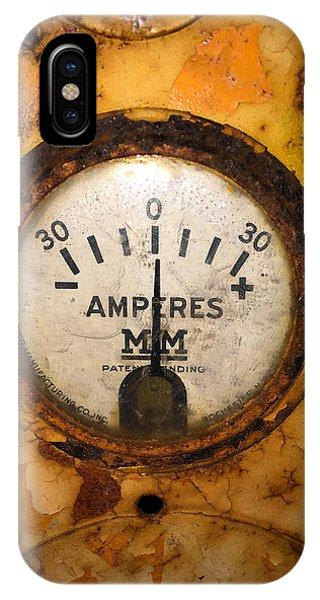 Mm Amperes Gauge IPhone Case