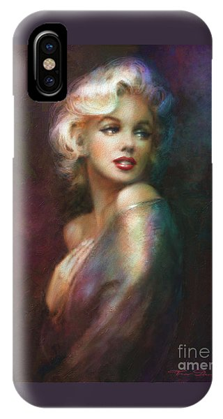 Blond iPhone Case - Mm Ww Colour by Theo Danella