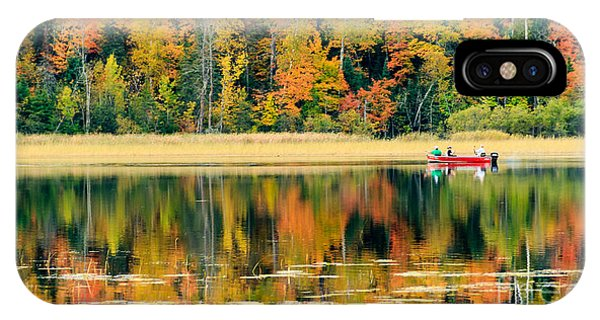 Mn Fall Fishing IPhone Case