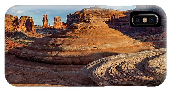 Moab Back Country Panorama 2 IPhone Case