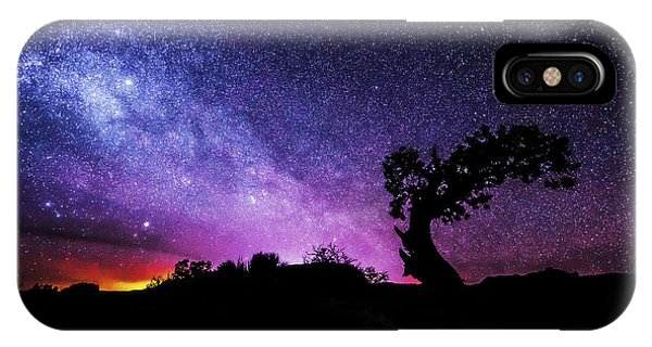 Wild Horses iPhone Case - Moab Skies by Chad Dutson