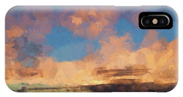 Moab Sunrise Abstract Painterly IPhone Case