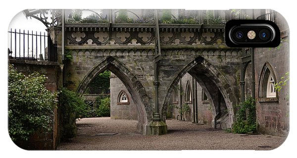 Moat At Inveraray Castle In Argyll IPhone Case