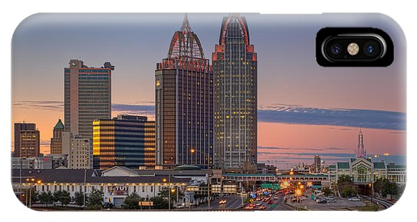 Mobile Sunset IPhone Case