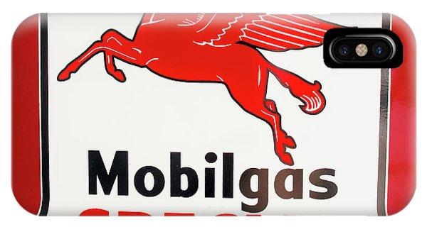 Mobilgas Vintage 82716 IPhone Case