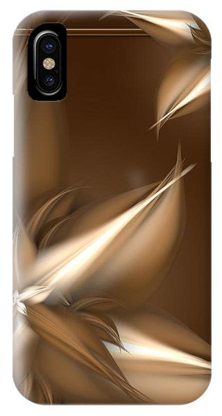 Mocha Cream Swirl IPhone Case