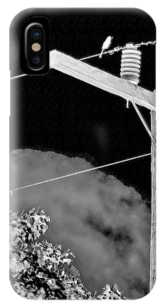 Mockingbird On A Wire IPhone Case