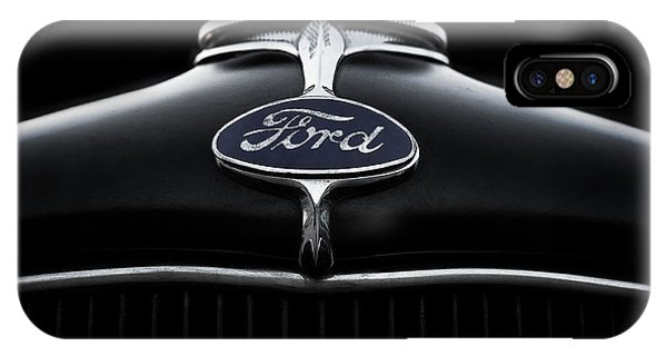 Chrome iPhone Case - Model A Ford by Douglas Pittman