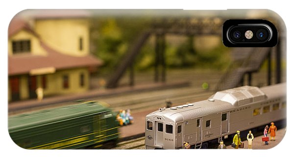 Model Trains IPhone Case