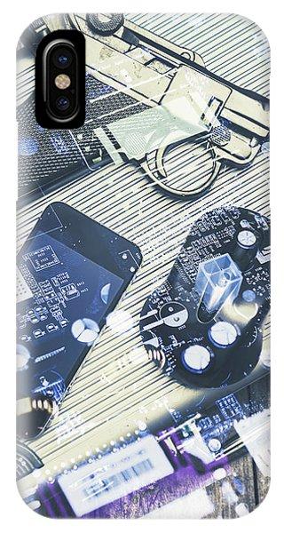 Virus iPhone Case - Modern Agency Warfare by Jorgo Photography - Wall Art Gallery