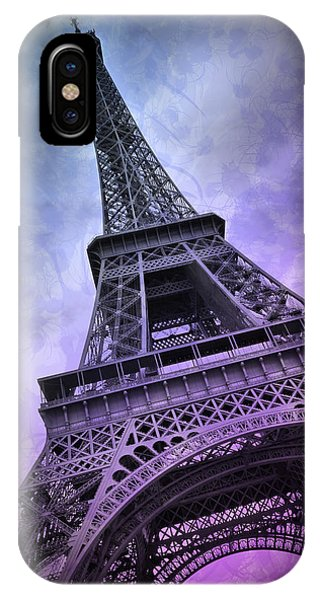 Modern Art Paris Eiffel Tower  IPhone Case
