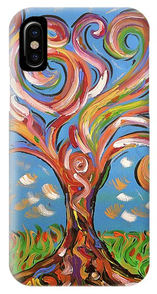 Modern Impasto Expressionist Painting  IPhone Case