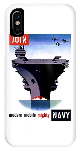 Political iPhone Case - Modern Mobile Mighty Navy by War Is Hell Store