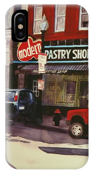 Modern Pastry Shop Boston Phone Case by Walt Maes
