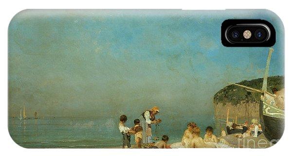 Sunbather iPhone Case - Modern Sirens by Edoardo Dalbono