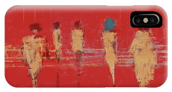 IPhone Case featuring the mixed media Modern Society by Eduardo Tavares