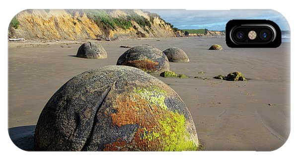 Moeraki Boulders IPhone Case