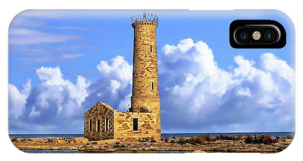 Mohawk Island Lighthouse IPhone Case