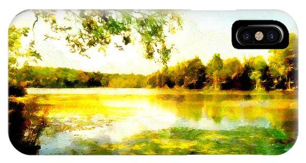 Mohegan Lake Hidden Oasis IPhone Case