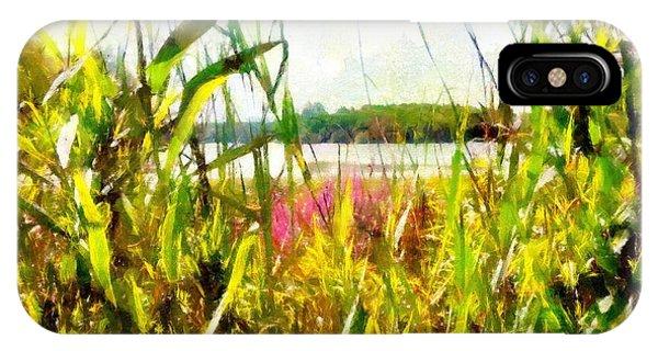 Mohegan Lake In The Brush IPhone Case