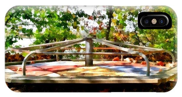 Mohegan Lake Merry-go-round IPhone Case