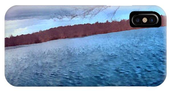 Mohegan Lake Panoramic Lake IPhone Case