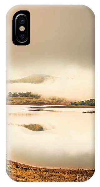 Morning Mist iPhone Case - Moina Morning by Jorgo Photography - Wall Art Gallery