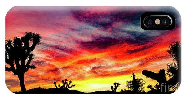 Mojave Sunset IPhone Case