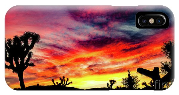 Mojave Sunset IPhone Case