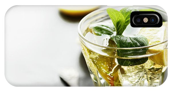 Beverage iPhone Case - Mojito by Jelena Jovanovic