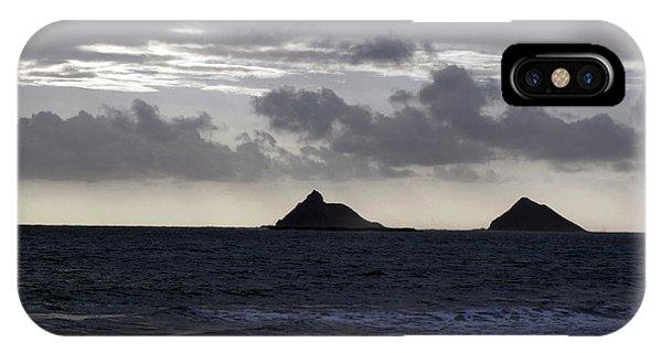 Molokai From Oahu IPhone Case