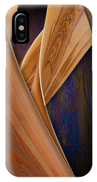Molten Wood IPhone Case