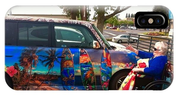 Mom Loves Surf Car IPhone Case