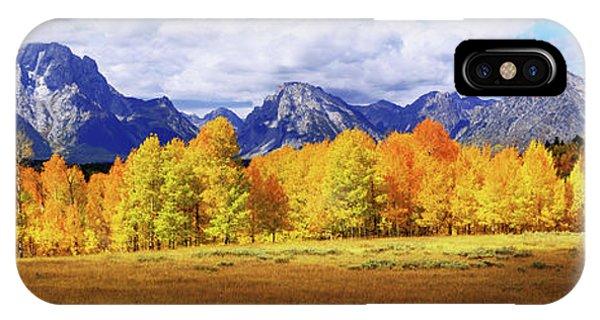 Teton iPhone Case - Moment by Chad Dutson