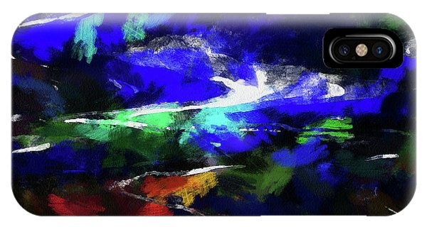 Moment In Blue Lazy River IPhone Case