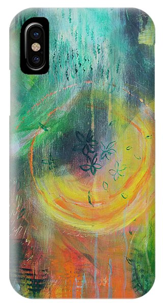 IPhone Case featuring the painting Moment In Time by Jocelyn Friis
