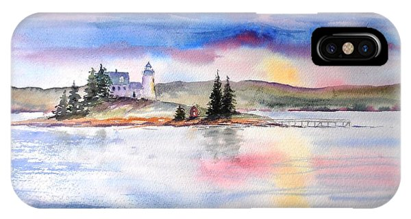 Moments Before Sunset IPhone Case
