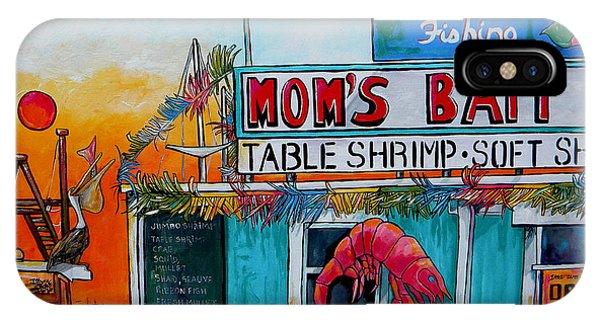 Moms Bait Shop IPhone Case