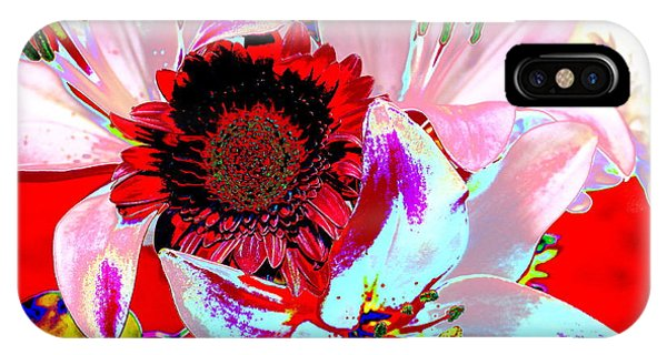 Mom's Day Bouqet Abstract IPhone Case