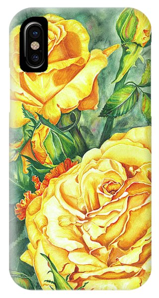 Mom's Golden Glory IPhone Case