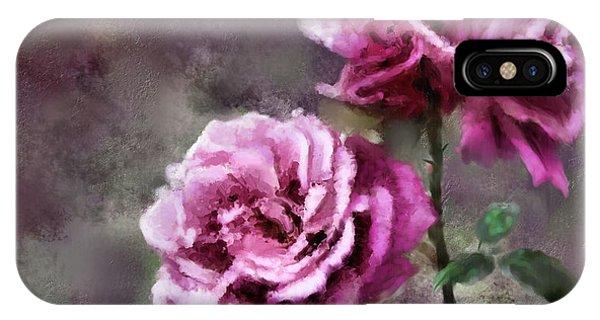 Moms Roses IPhone Case