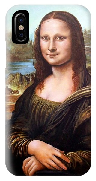 Mona Lisa After Leonardo IPhone Case