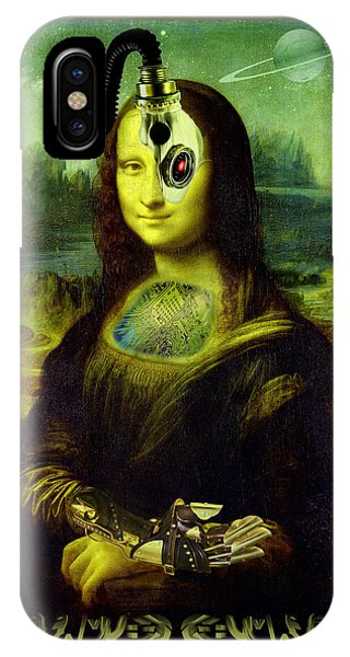 Mona Lisa Borg IPhone Case