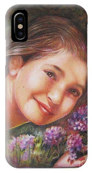 Mona Lisa's Smile IPhone Case