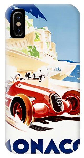 Monaco Grand Prix 1937 IPhone Case