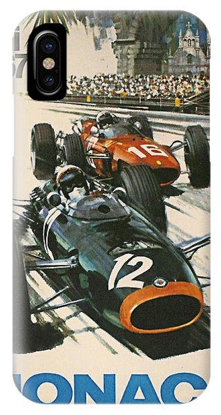 Monaco Grand Prix 1967 IPhone Case