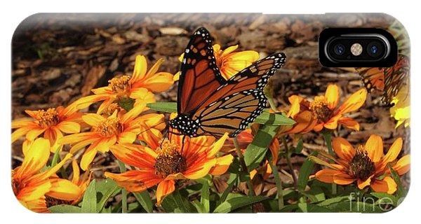 iPhone Case - Monarch Butterflies by Megan Cohen
