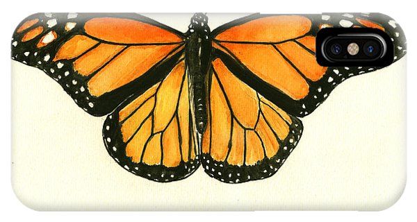 Insect iPhone Case - Monarch Butterfly by Juan Bosco