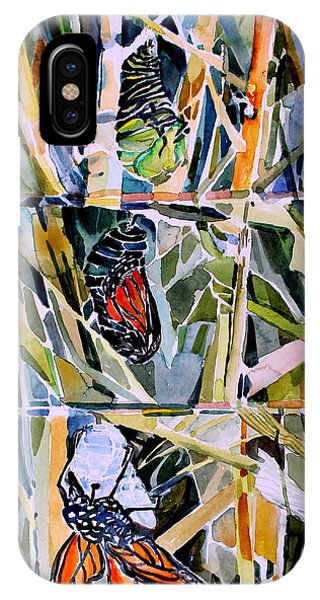 Monarch Butterfly Life Cycle IPhone Case