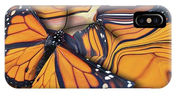 Monarch Flight IPhone Case